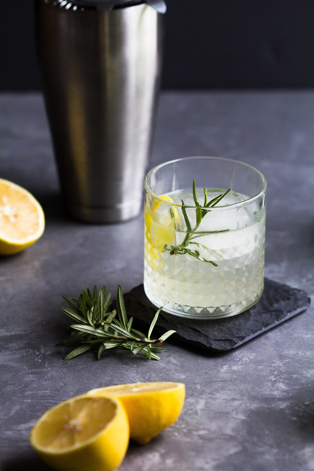 Elderflower, Lemon + Rosemary Cocktail - Sarah J. Hauser-4.jpg