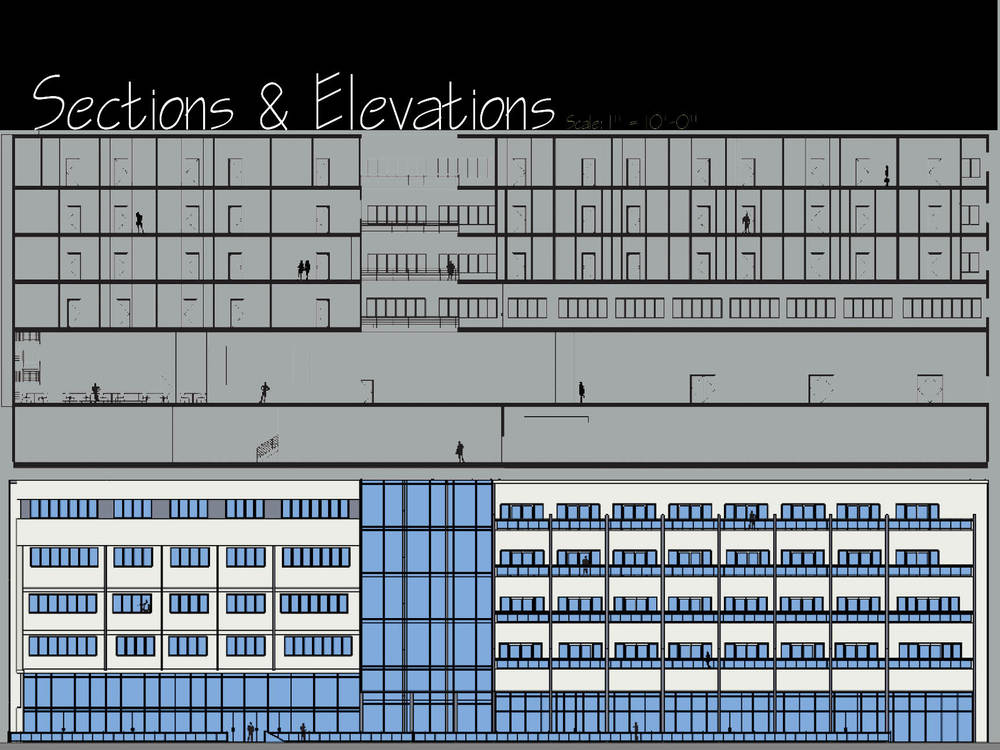 Section & Elevation 1