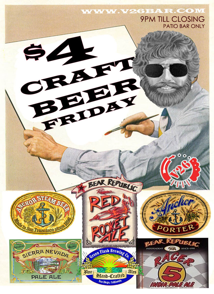 V26 CRAFT BEER FRIDAYS FLYER SUBJECT TO CHANGE MARIO'S PLACE.jpg