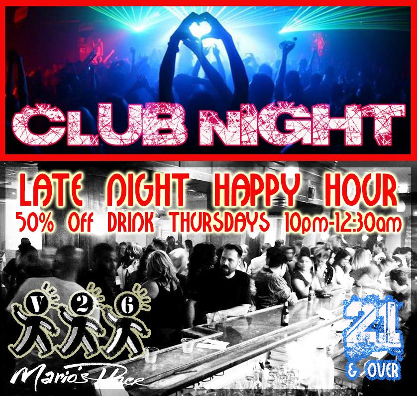 CLUB NIGHT AT MARIO'S PLACE AD.jpg
