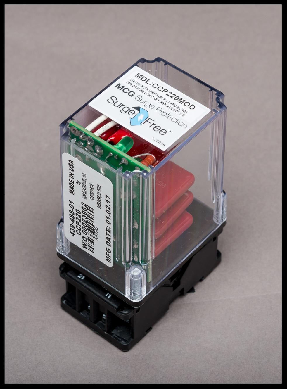 MCG CCP - Modular Control Panel Protection