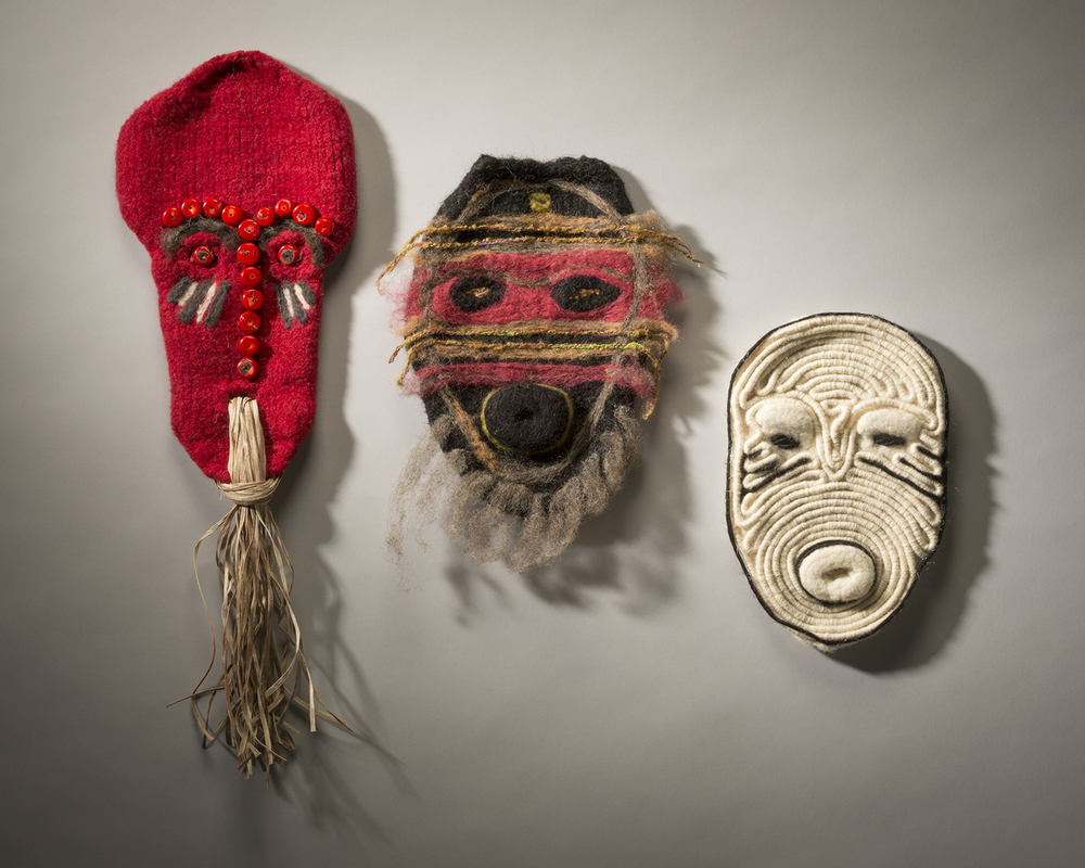 Three Masks