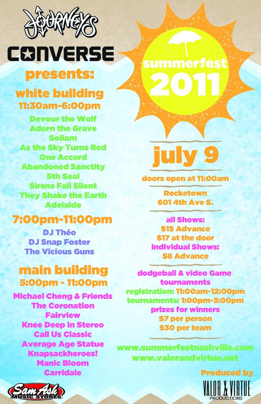 Summerfest 2011 Poster