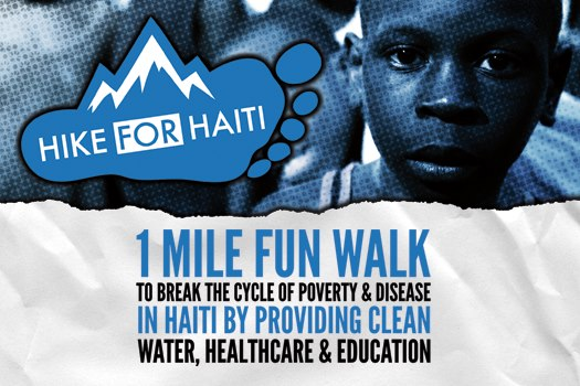 Hike for Haiti Postcard