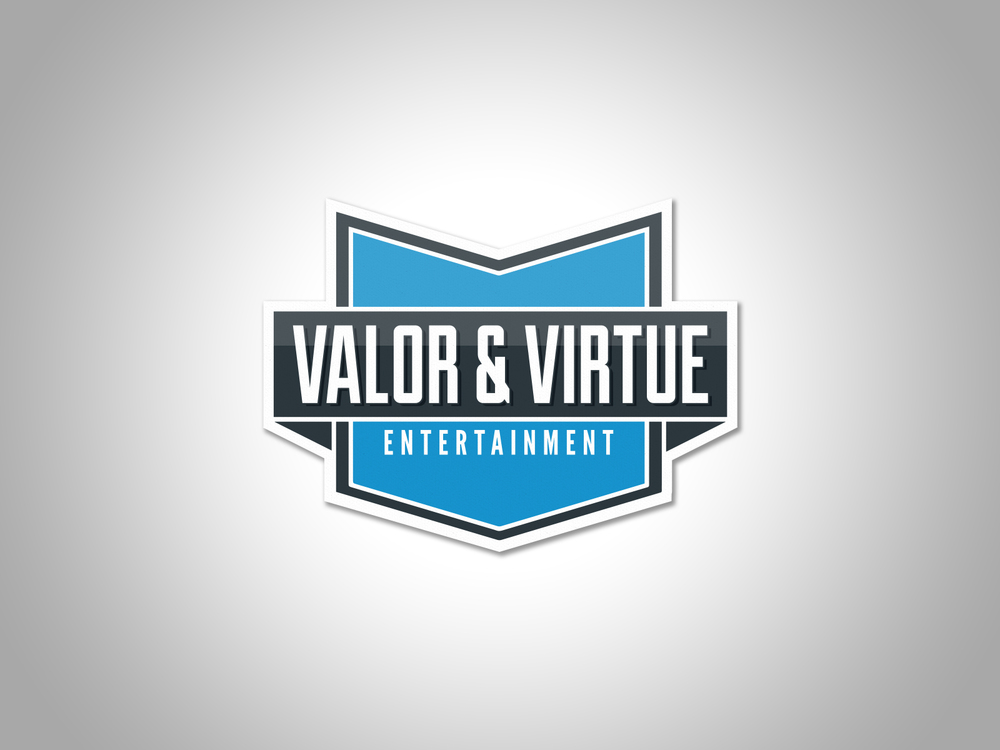 Valor & Virtue Entertainment Logo