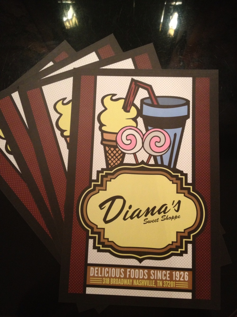 Diana's Sweet Shoppe Poster