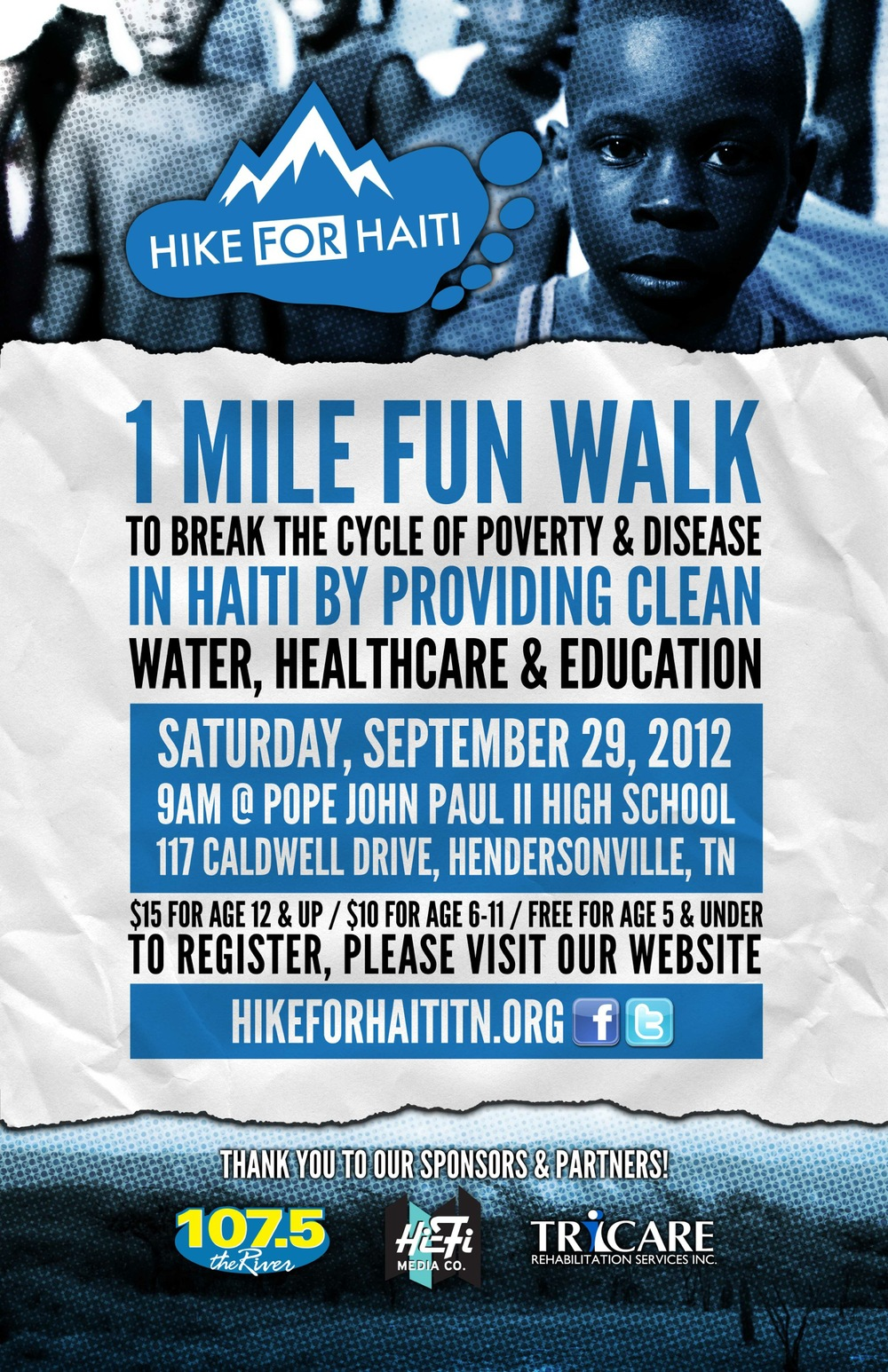Hike for Haiti Poster