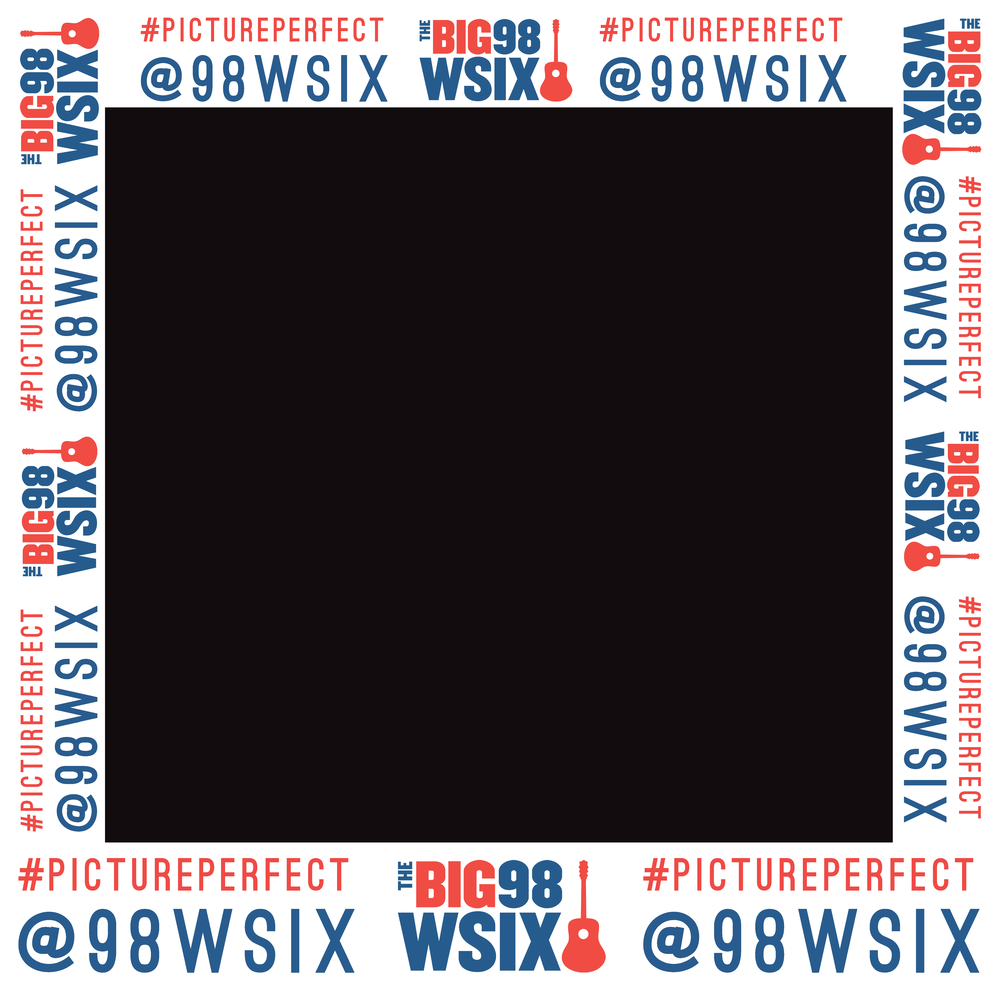 98 WSIX Photo Frame Cutout