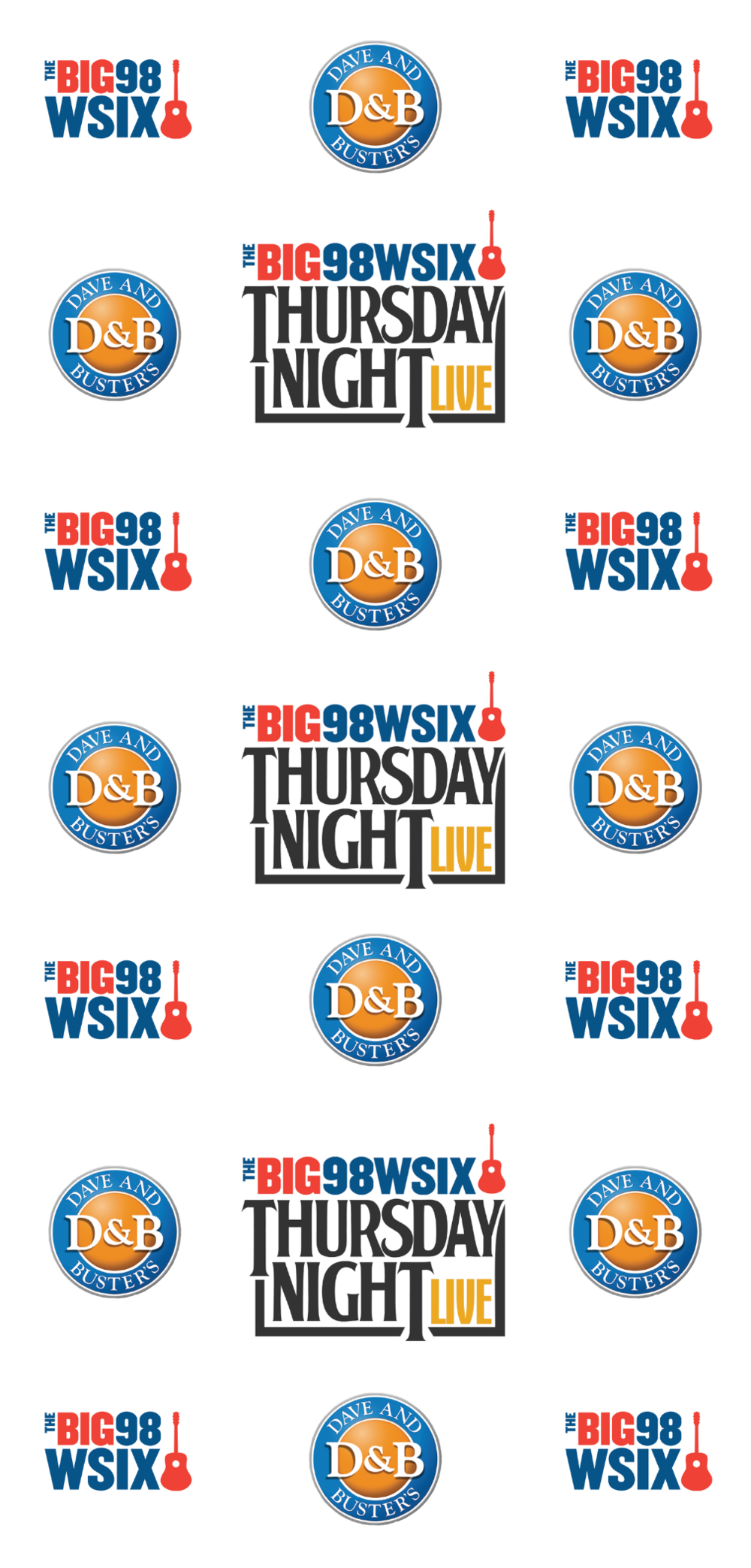 98 WSIX Thursday Night Live Banner Stand