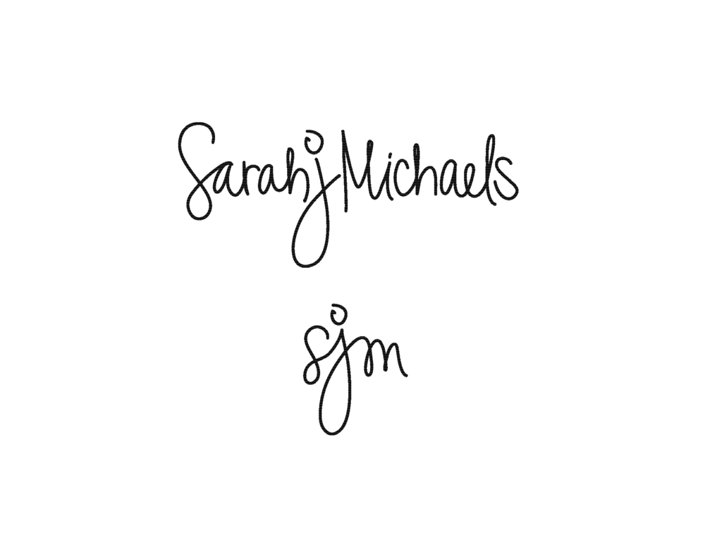 Branding for Sarah J Michaels