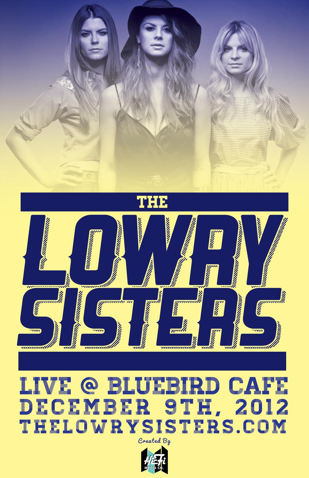 Nashville (Television Show) Bluebird Cafe Poster