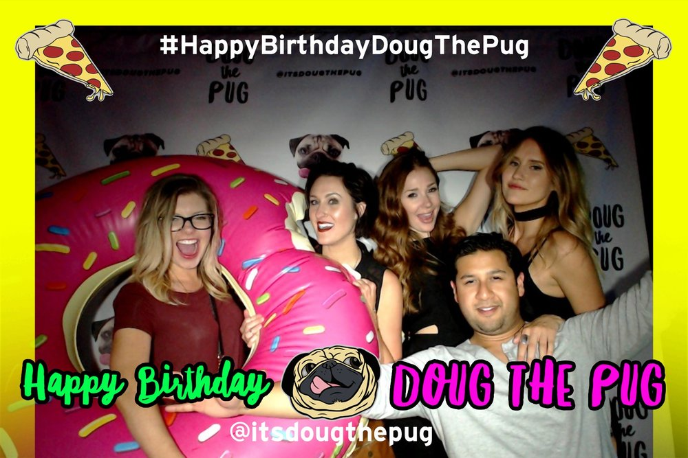 Doug the Pug Birthday Banger at ACME