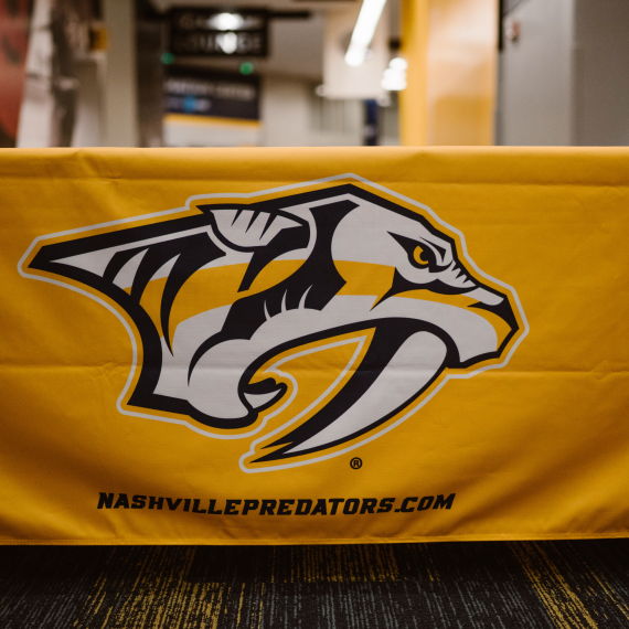 Nashville Predators Table Cover