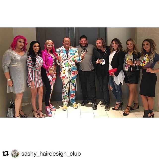 #Repost @sashy_hairdesign_club with @get_repost ・・・ @intercoiffureac @hairdreamsofficial @nvthesalon  Elvis 🕺 Night 💯🎶🕺#intercoiffure #icamoments #memphis #followforfollow #salonlife✂️ @nvtheprodigy @alexandramorgan7 @beautyby.missabby