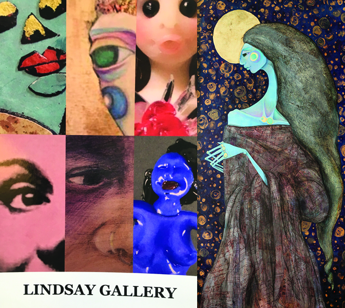 """Modern Madonna"" exhibits the entire month of July 2018 at Lindsay Gallery, 986 N. High St., Columbus, OH 43201"