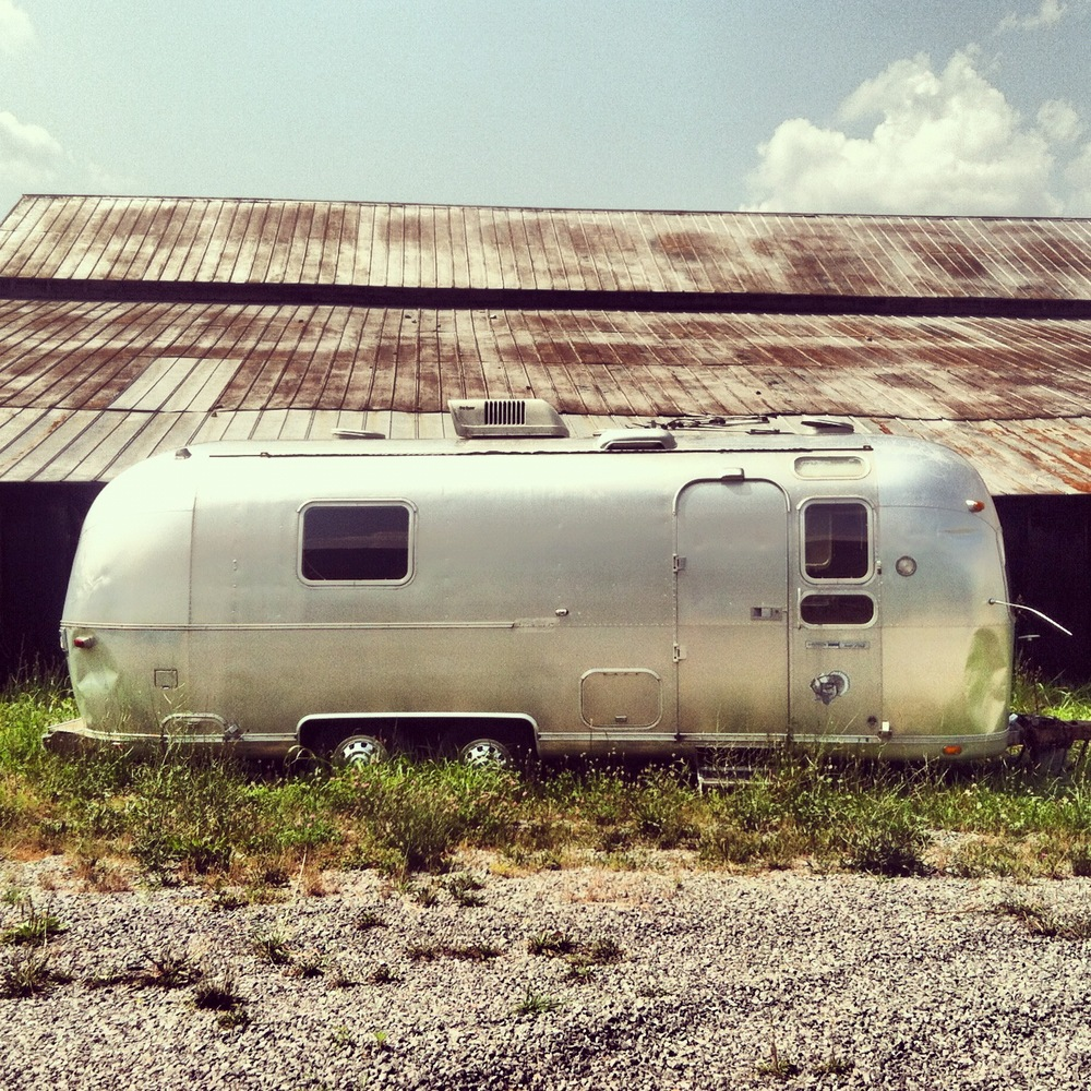 Our renovated airstream.