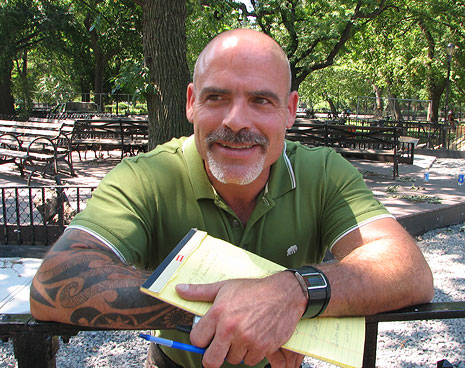 Faces of the renovation: Bradley Romaker, architect of Tompkins Square dog run