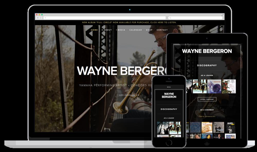 Wayne Bergeron- mockup