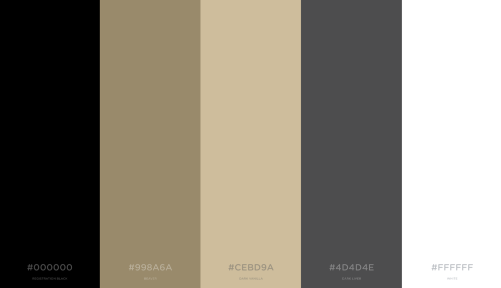 Amir Oosman website color scheme