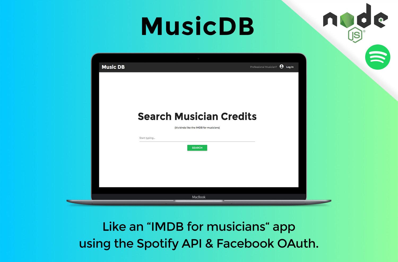 MusicDB: A full-stack