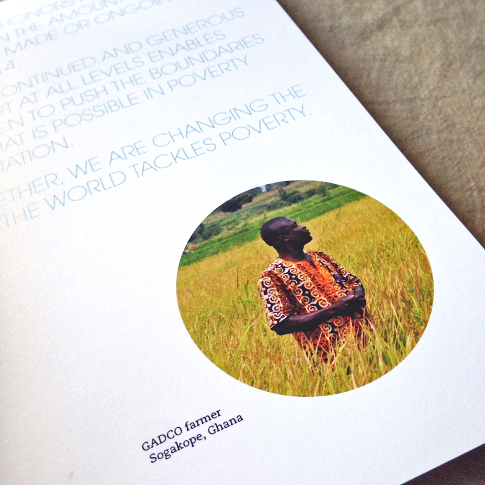 Our Community Booklet | Acumen Partner Gathering 2014