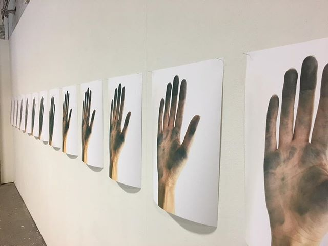 Installation view. Final MFA show. #whitecliffe_life 📷 @danemitchell