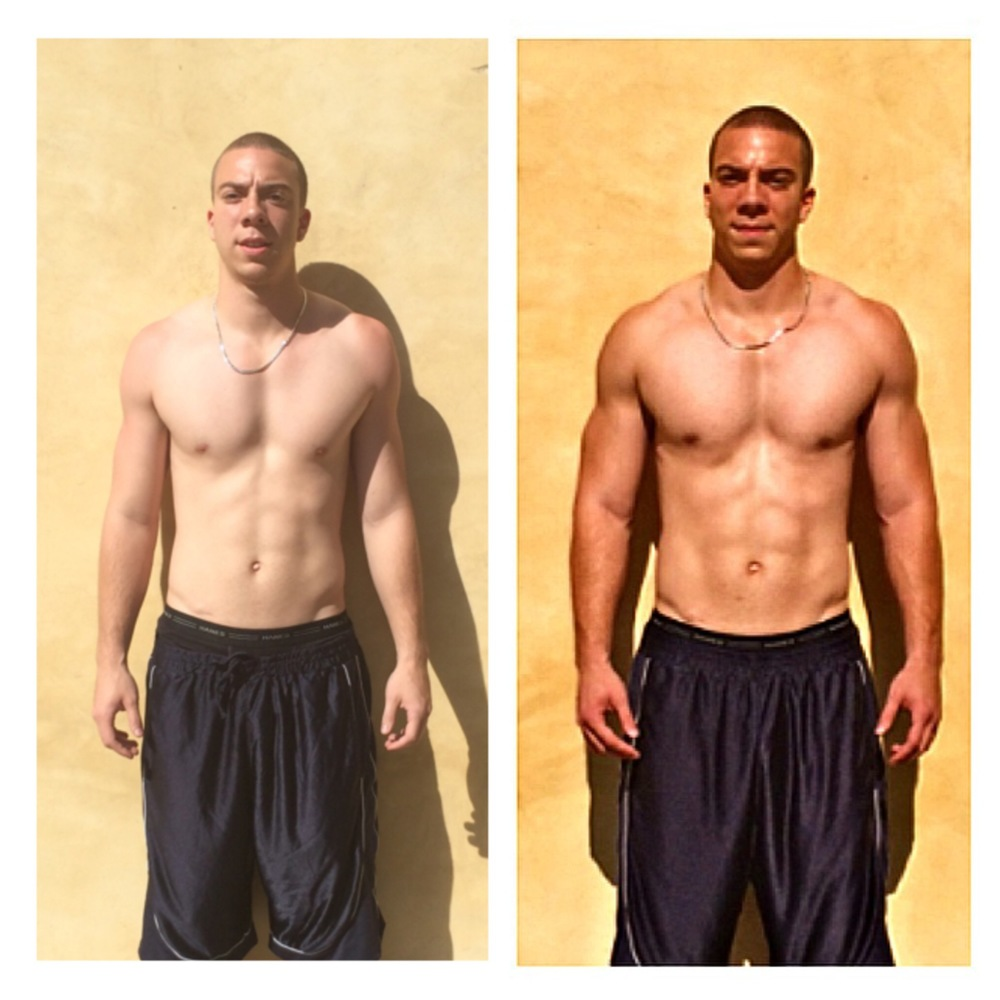 Matt Murray 3 week transformation
