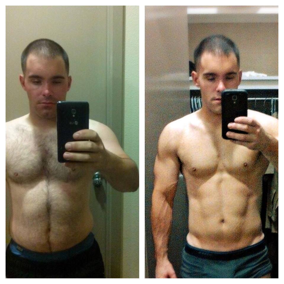 Jared's 8 week transformation