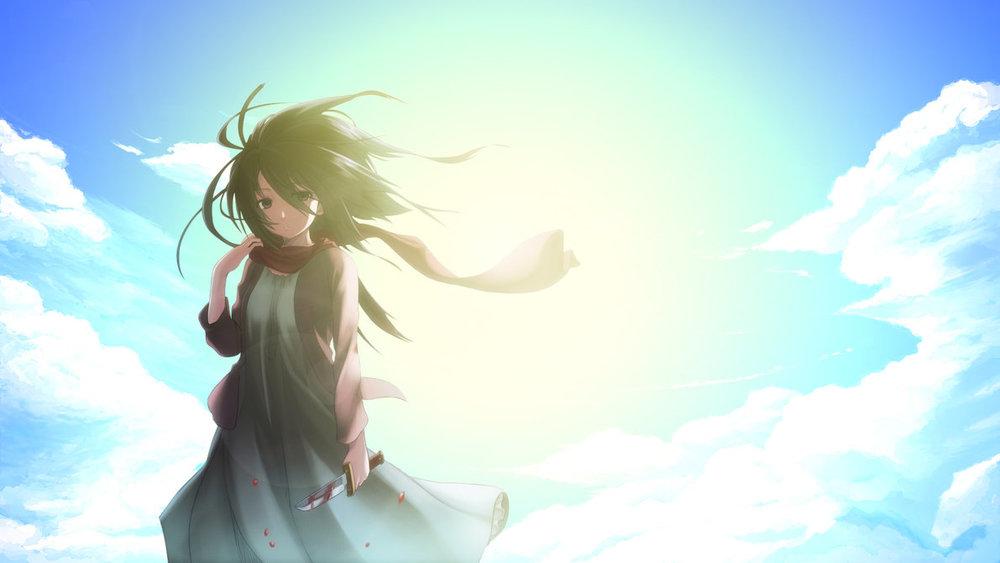 http://www.deviantart.com/art/Mikasa-Ackerman-Wallpaper-371773529