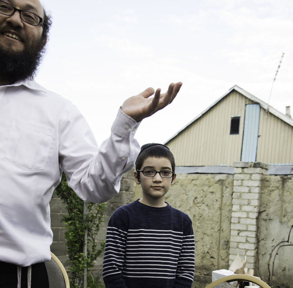 31 Rabbi Schneerson and his son.jpg