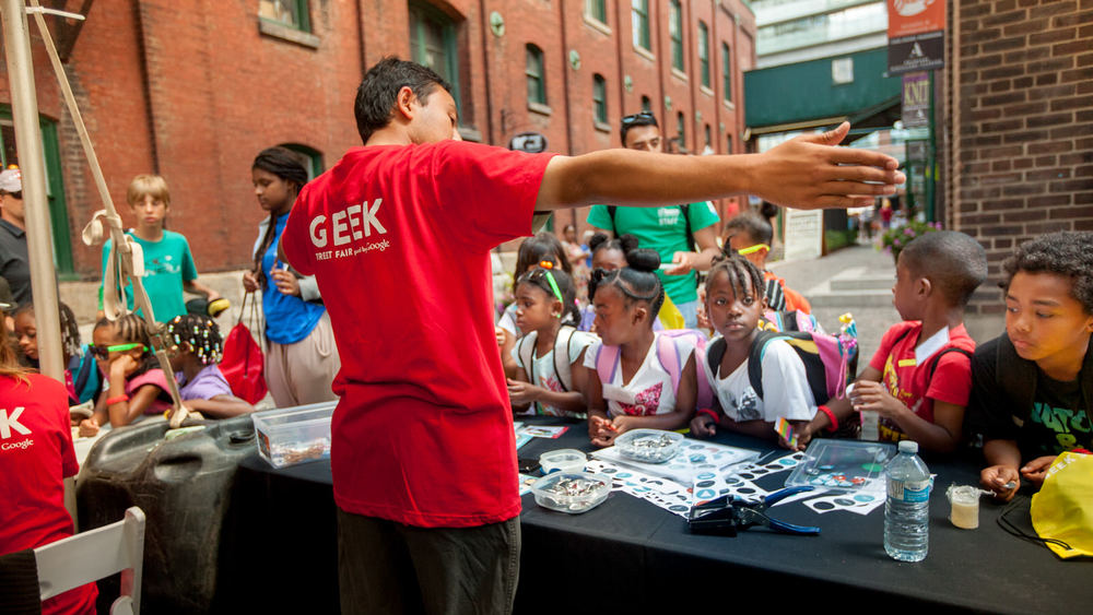 Google Geek Street Fair Toronto