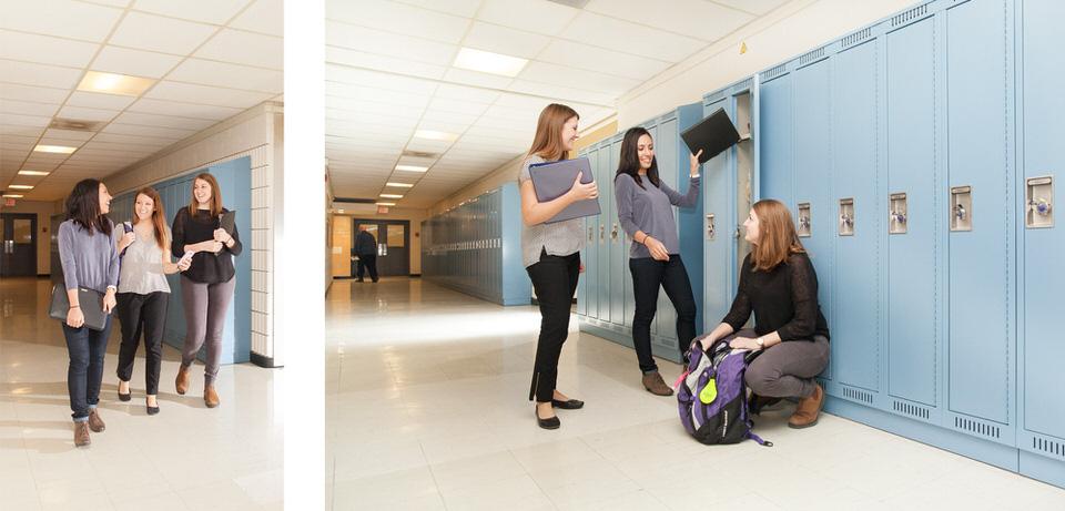 UofT UME students hallway.jpg
