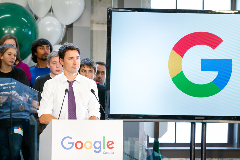 Google Waterloo Prime Minister