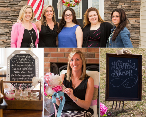 So many vintage wedding shower ideas in one place!