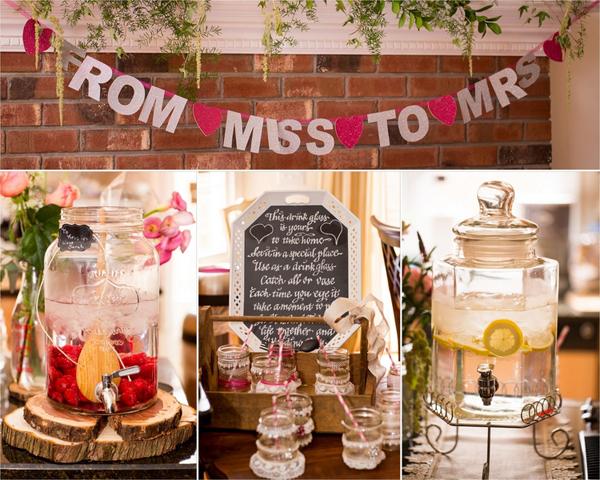 Vintage wedding shower ideas on Showerbelle