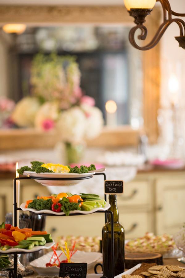 Wedding shower food ideas on Showerbelle