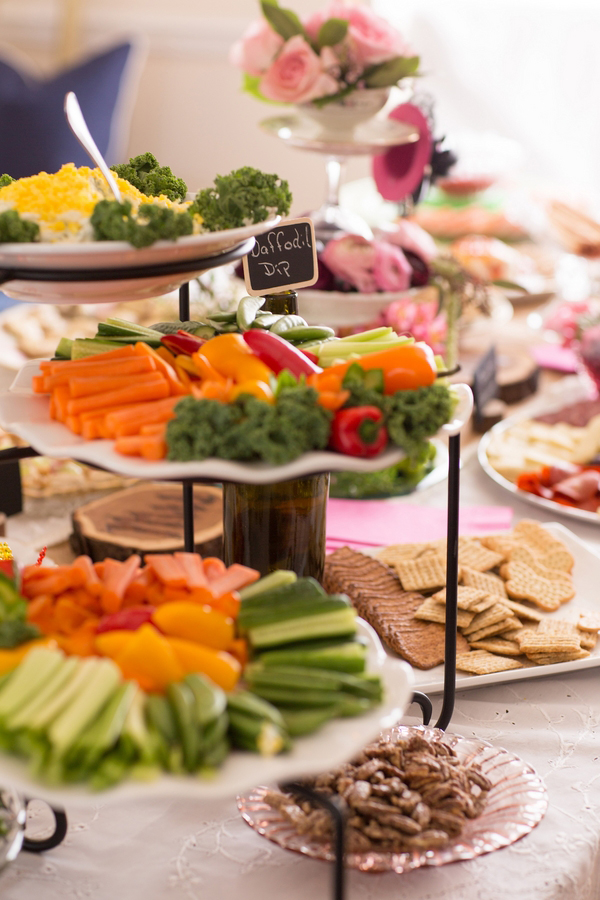 Simple wedding shower food ideas