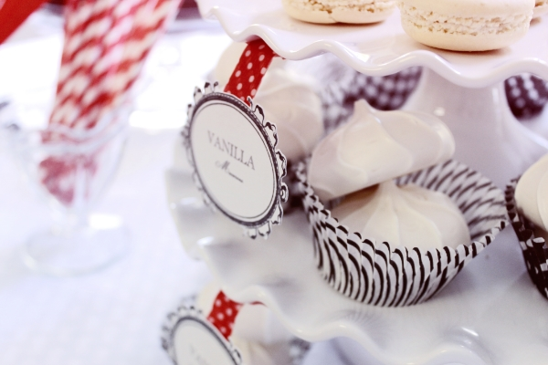 Parisian themed bridal shower inspiration