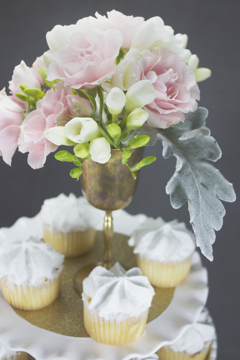 Pink gold bridal shower decorations and inspiration