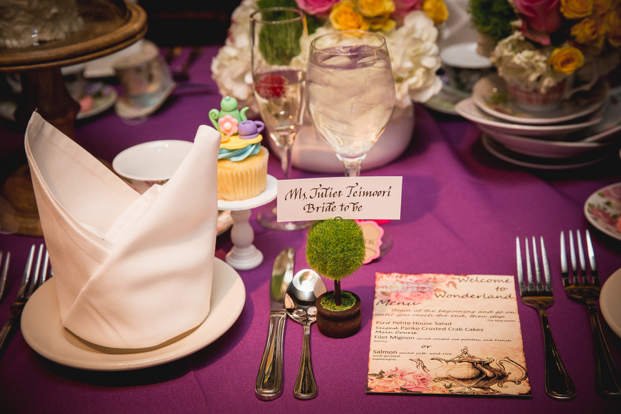 Pretty Alice and Wonderland bridal shower