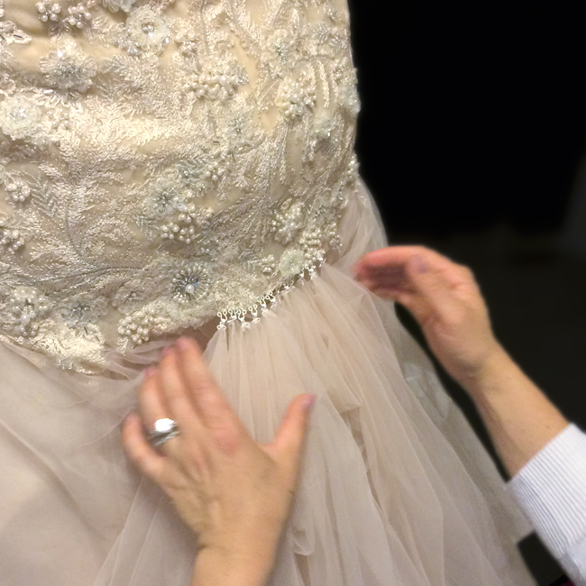 Wedding Dresses With Bustle 30