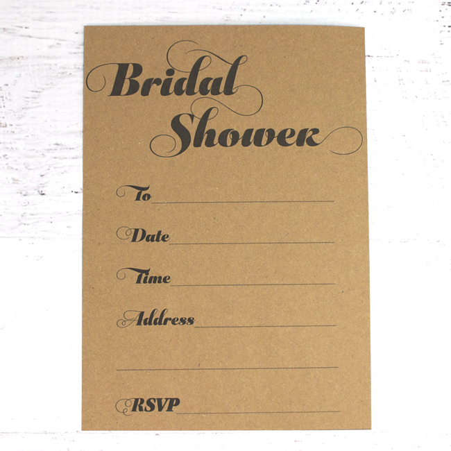 Free Printable Bridal Shower Invitations and Straw Flags EVENT 29