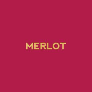 wine themed bridal shower color palette - merlot