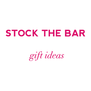 stock the bar party wedding shower gift ideas