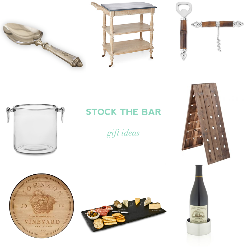 stock the bar gift ideas wine tasting bridal shower edition