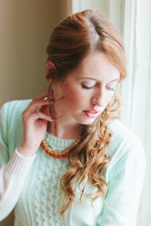 Bridal Shower Hairstyle : Retro bridal shower inspiration with anthropologie style u2014 event 29
