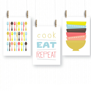 Cute kitchen themed bridal shower gift ideas