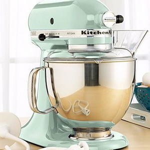 mint kitchen theme bridal shower gift ideas