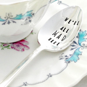 Alice in Wonderland bridal shower ideas on Showerbelle