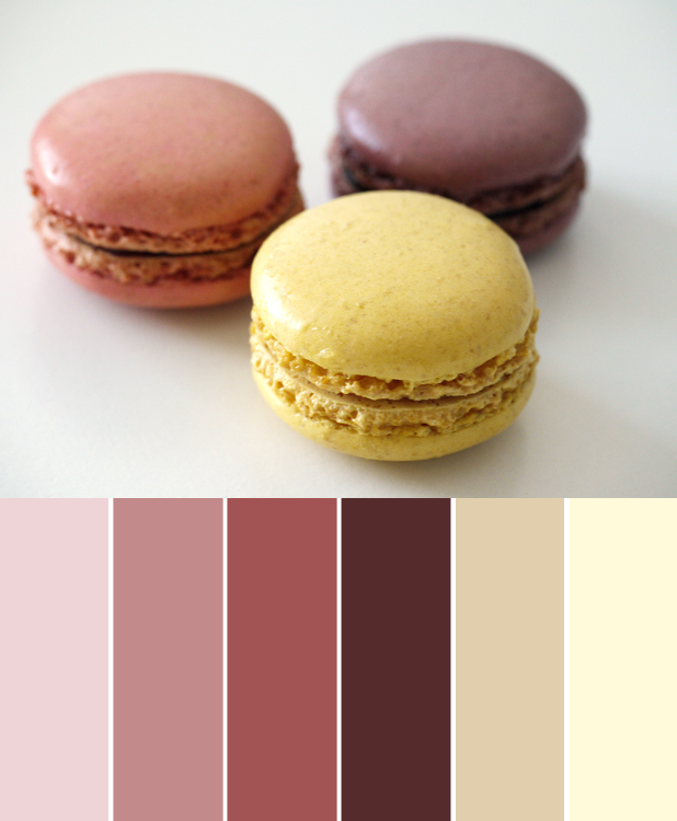 Macaron color palette and more on Showerbelle
